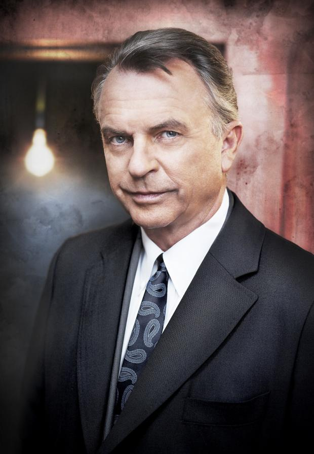 Sam Neill, among the stars filming a new drama, with scenes shot in locations including Ilkley