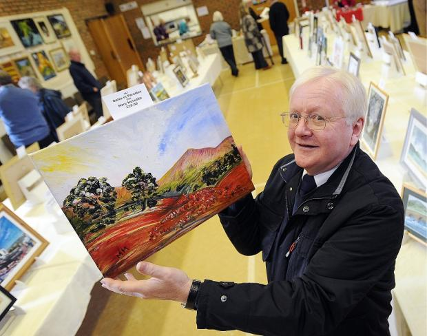 Frank Atkinson takes a look at one of the landscape oil paintings on show
