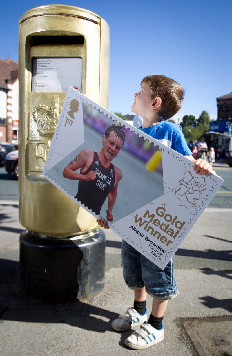 Golden postboxes to be made permanent
