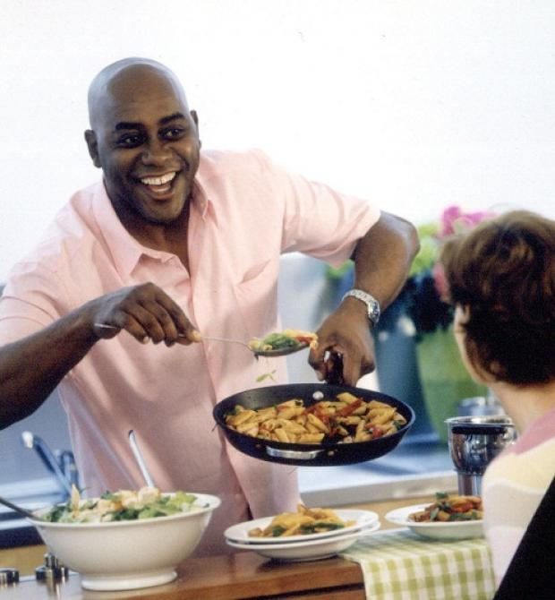 TV chef Ainsley Harriott is a food ambassador