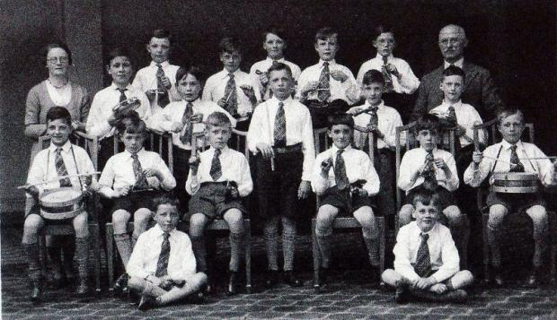 Were you a member of Ilkley school percussion band?