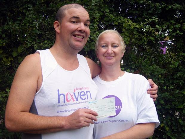 Neil Smith is to run the London Marathon inspired by his wife, Anne-Marie