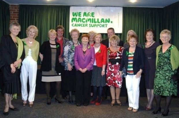 The Macmillan Cancer support team who have had a successful time