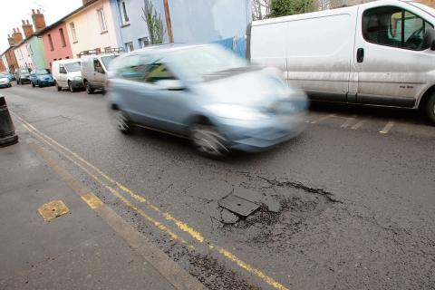 Leeds City Council is to receive funding to repair pot holes such as this one