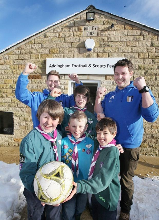 Addingham villagers thrilled over new pavilion