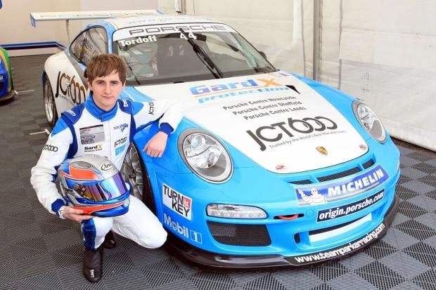 Sam Tordoff is thrilled to be joing Jason Plato and the MG team