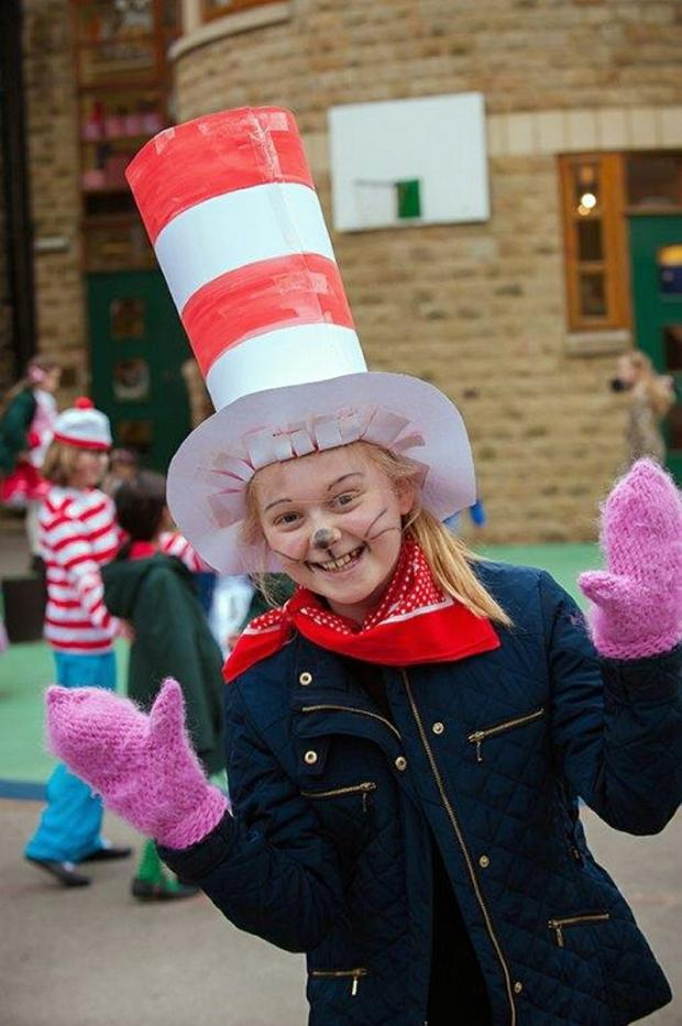 Children's classics day at Ilkley school