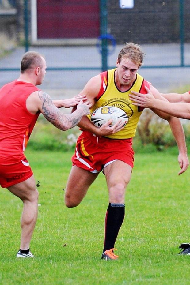 Alex Ball's late try gave Otley victory at Caldy