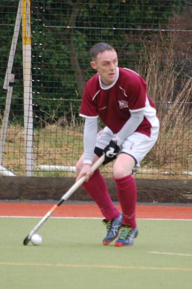 Ilkley Gazette: Danny Foster was on target