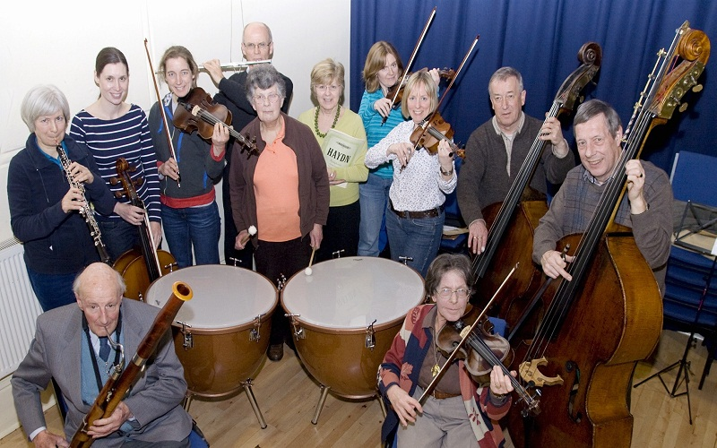 Members of Otley Chamber Orchestra
