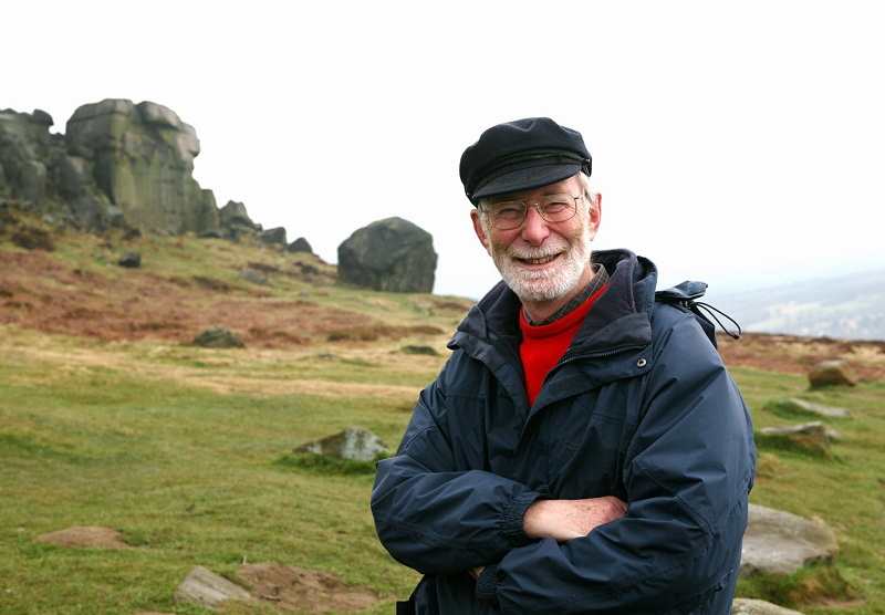 Friends of Ilkley Moor chairman John Stidworthy