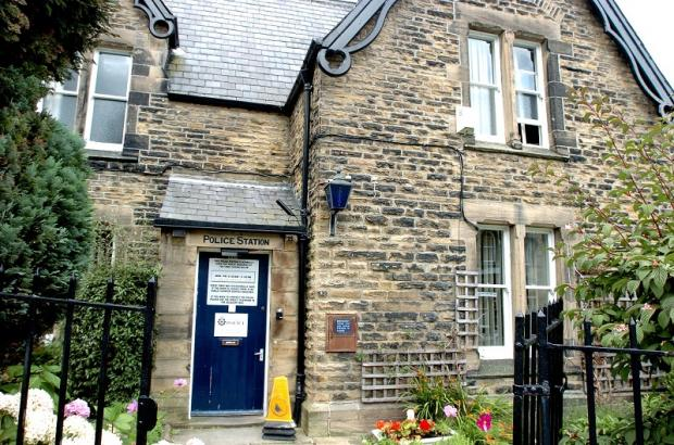 Ilkley Gazette: Ilkley Police Station on Riddings Road, just off The Grove