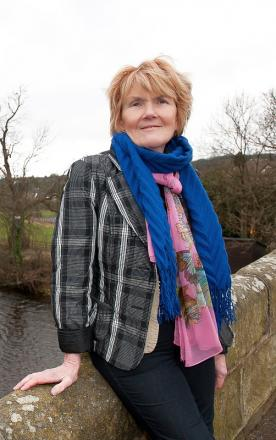 Chairman of Wharfedale Planning Action Group and district councillor, Anne Hawkesworth, who is urging residents to have their say on plans for 800 new homes