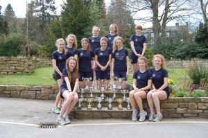 Ilkley Grammar School's under-15 girls cricket team have been playing at Lord's