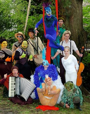 Some of the performers at last year's Ilkley Summer Festival