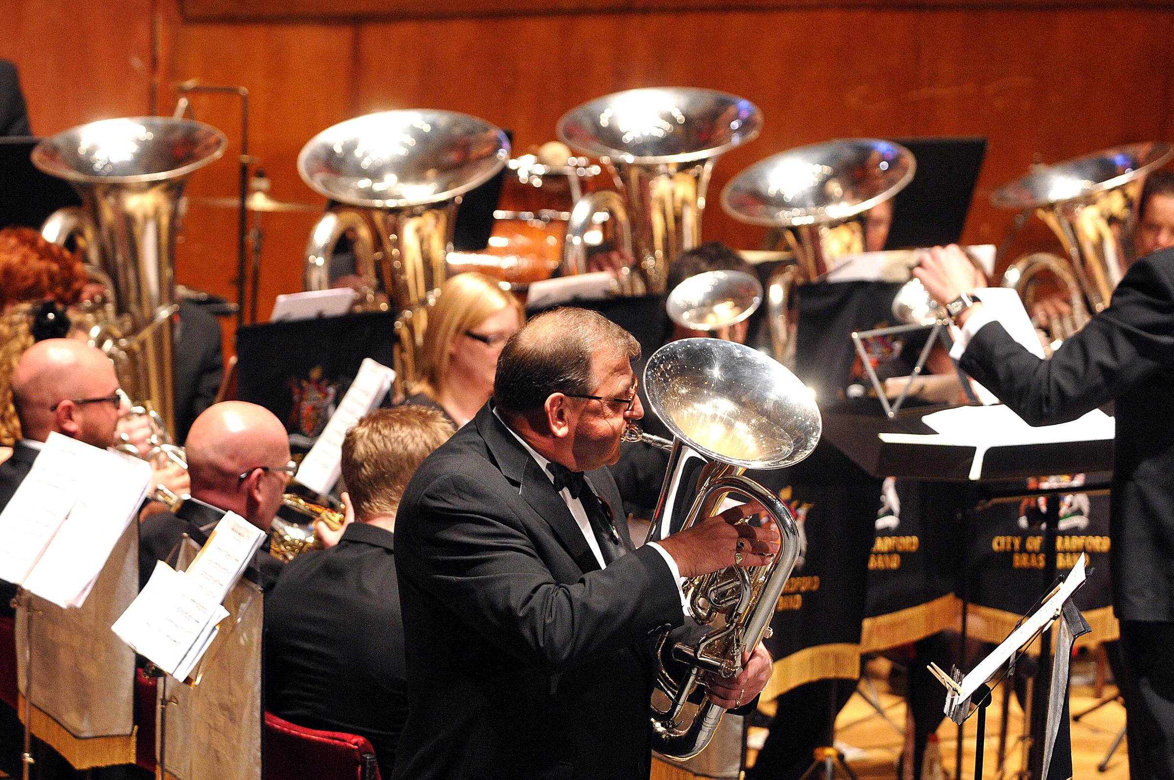 The City of Bradford Brass Band will be performing at Ilkley Parish Council's Civic Concert