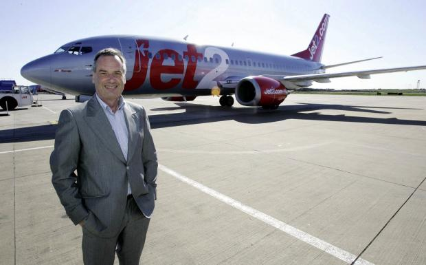 Founder and chairman of Jet2holidays Philip Meeson