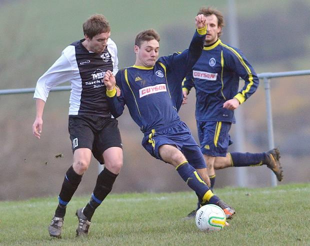 Danny Bott went close for Ilkley