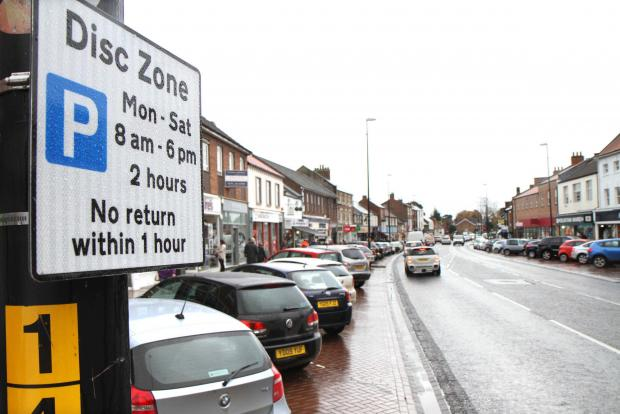 Call for times restriction on Ilkley street parking