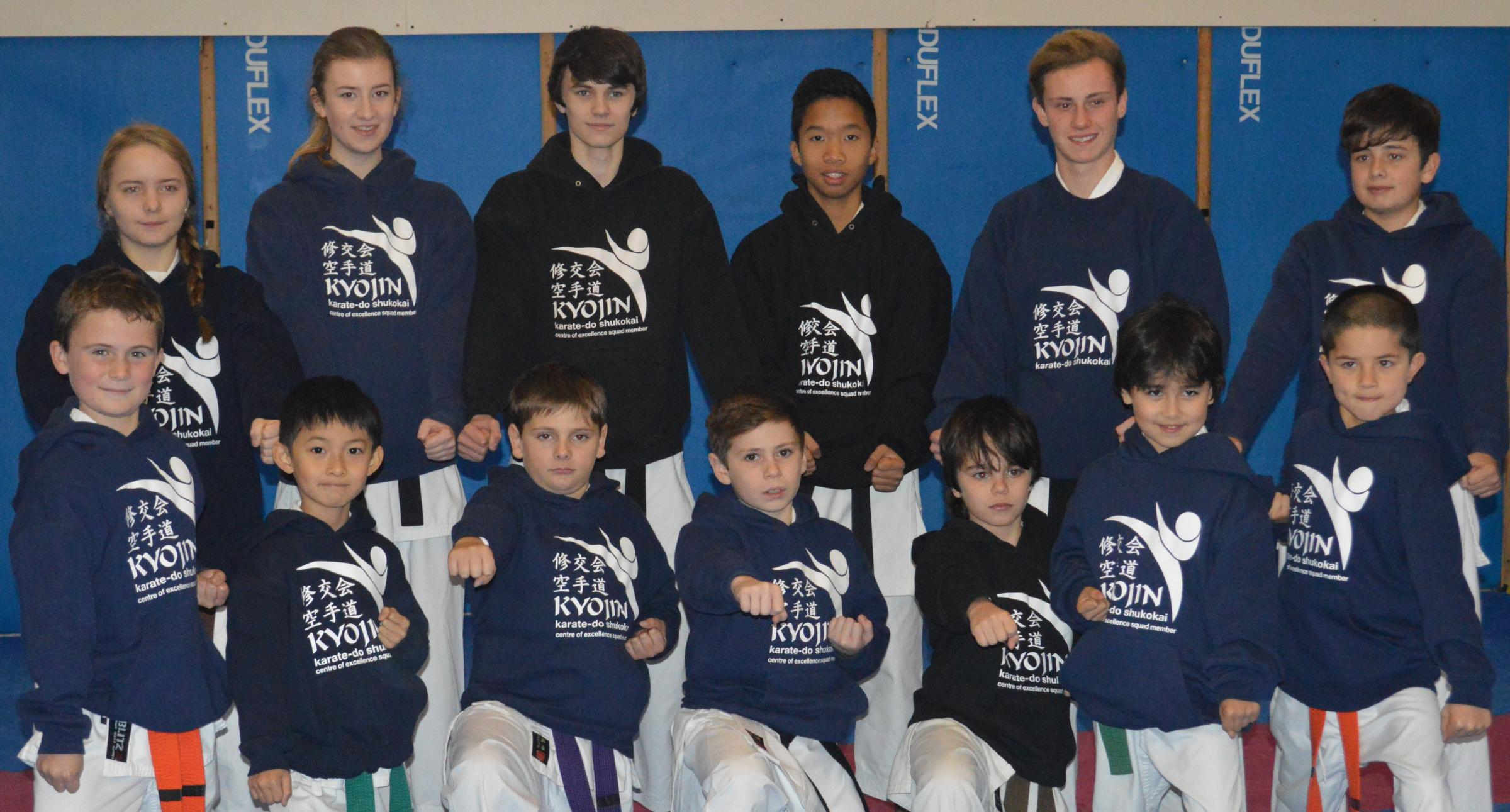 The Otley Karate Centre squad
