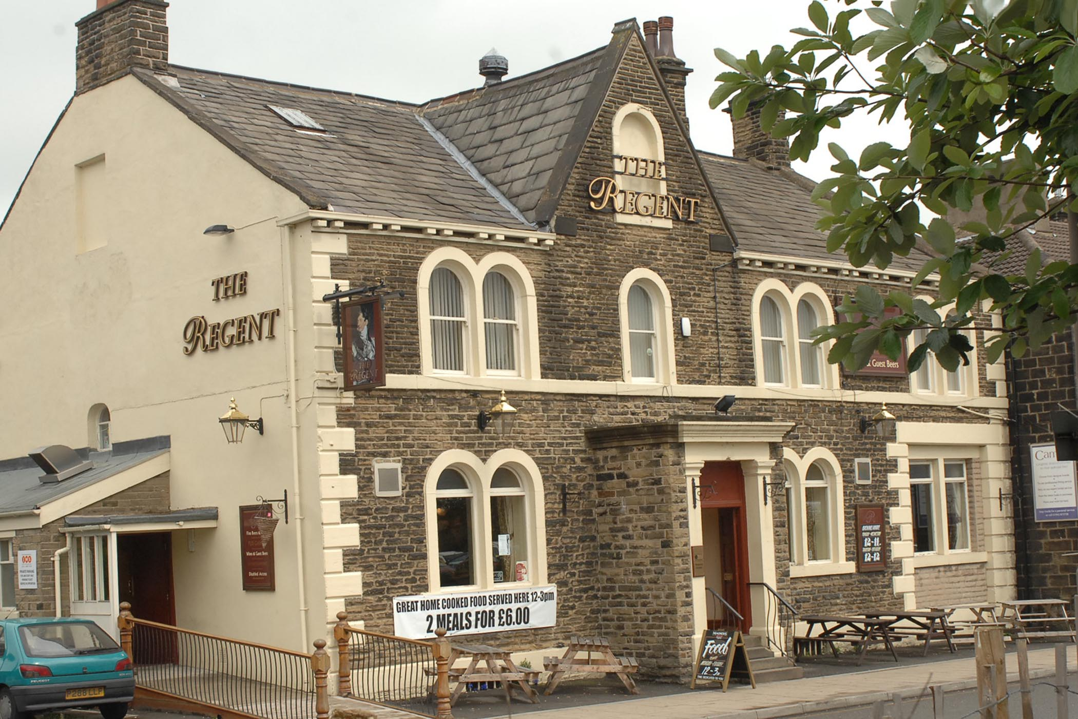 The Regent pub in Guiseley