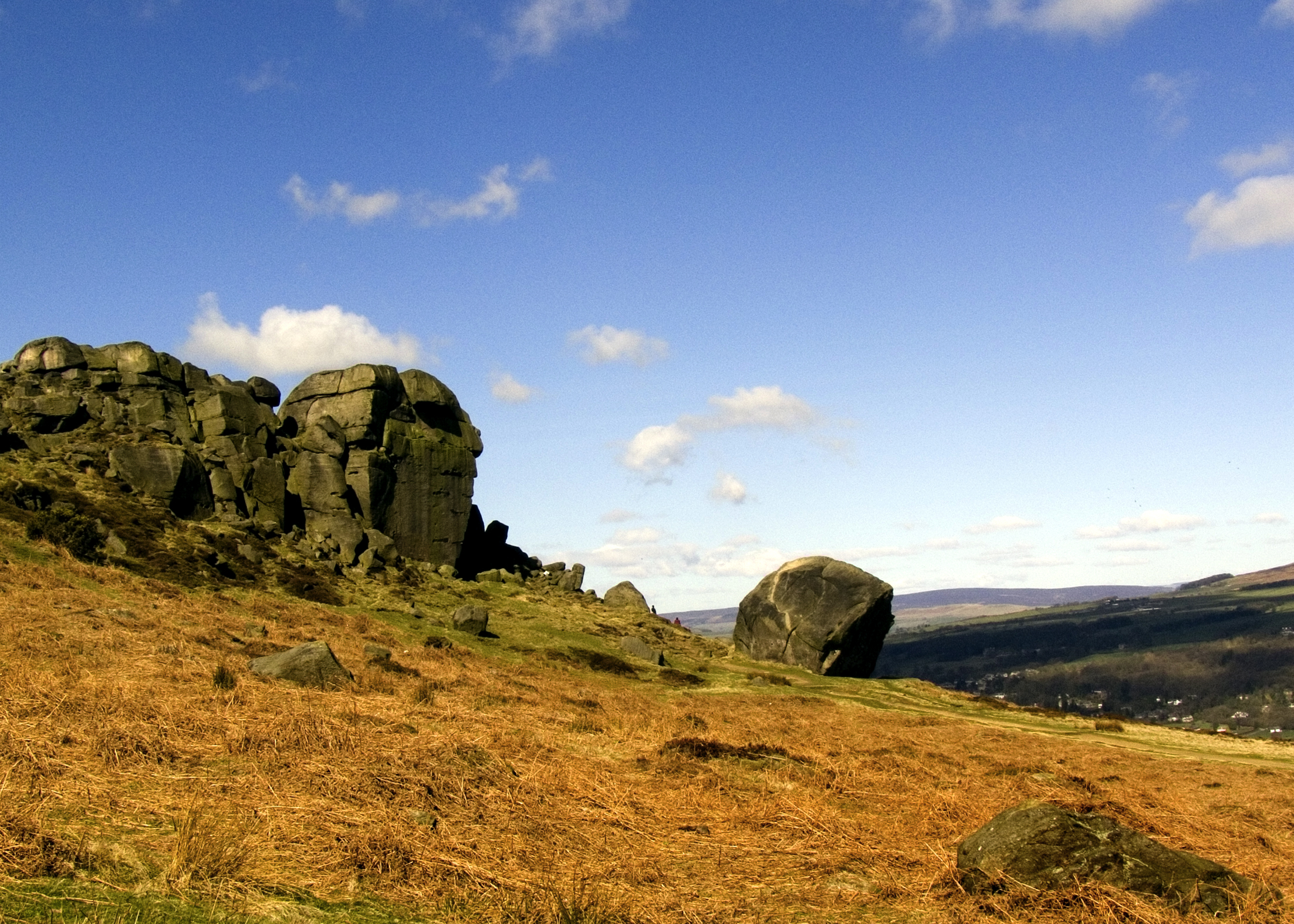 The Cow and Calf rocks at Ilkley. What's your favourite icon of Yorkshire?