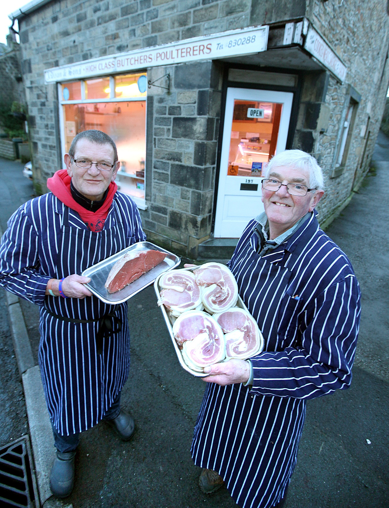Addingham butcher's shutting up shop after 130 years