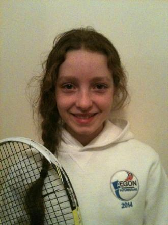 Amber Woffindin is one of three Ilkley players who are receiving LTA funding and support via the Aegon FutureStars programme