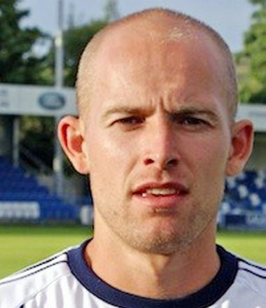 Guiseley defender Danny Ellis had a mixed afternoon