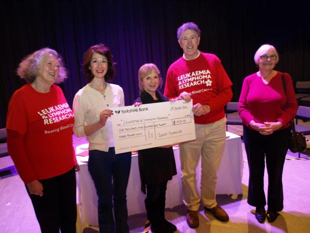 Research charity gets show funds