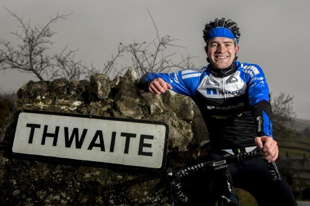 Ilkley Gazette: Scott Thwaites followed up his third-place finish by coming eighth on the last day of the Three Days of West Flanders