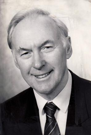 'Sadly missed', former chairman of Ilkley Parish Council, Alec Goodall Henderson