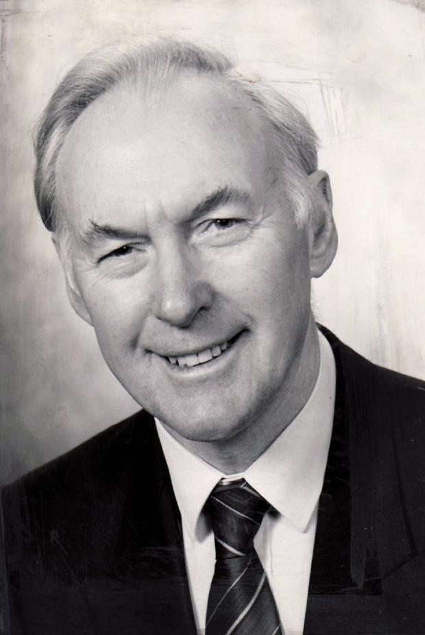 Ilkley Gazette: 'Sadly missed', former chairman of Ilkley Parish Council, Alec Goodall Henderson