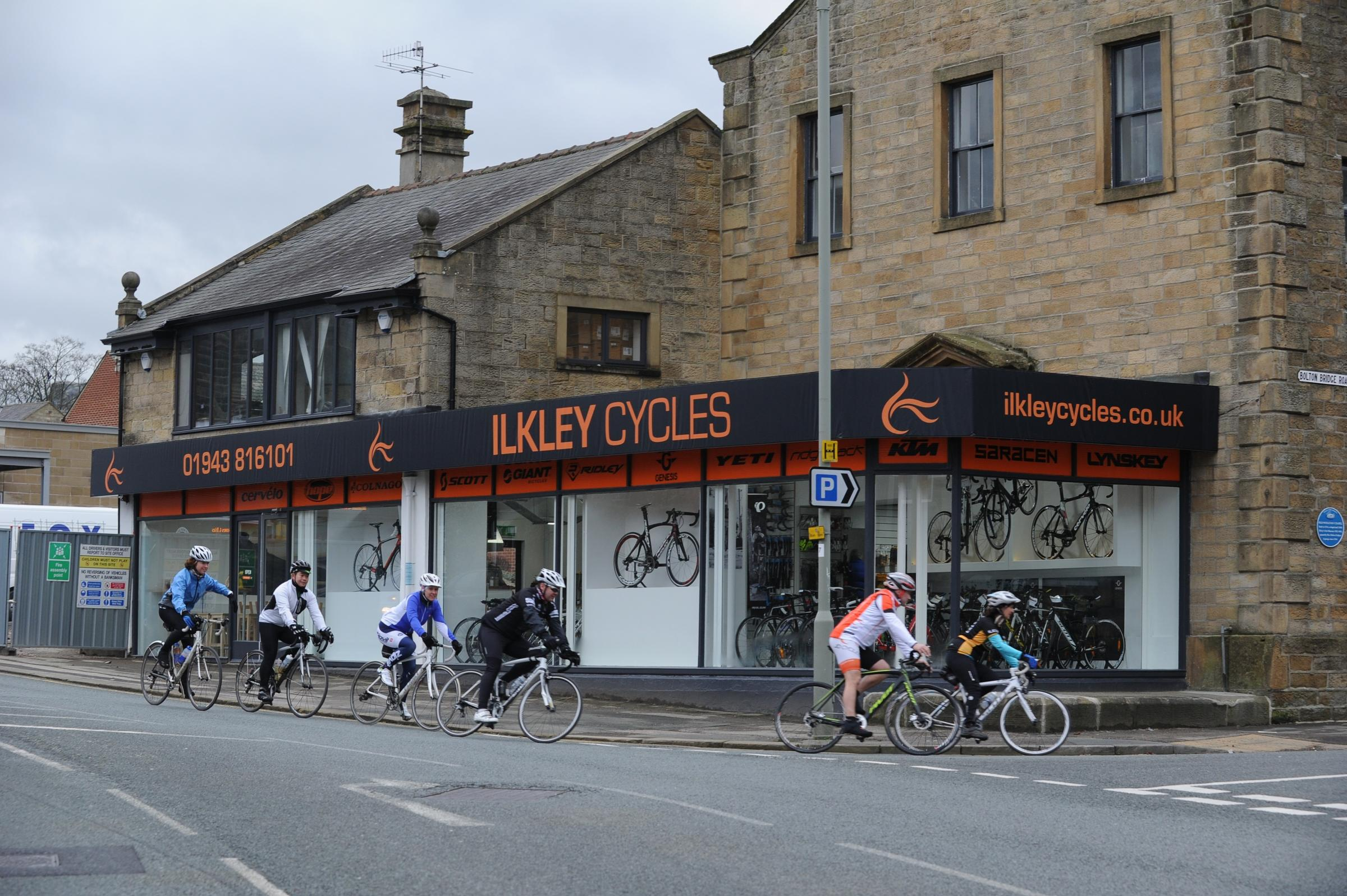 Boss 'excited' as Ilkley cycle store enters new era