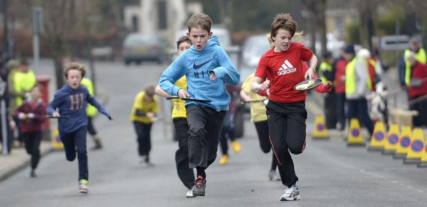 Determined runners taking part in one of last year's races