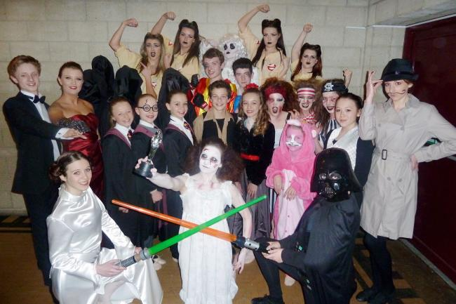 987bef1804dd2c The elite squad of dancers from Joze School of Performing Arts who took  part in a