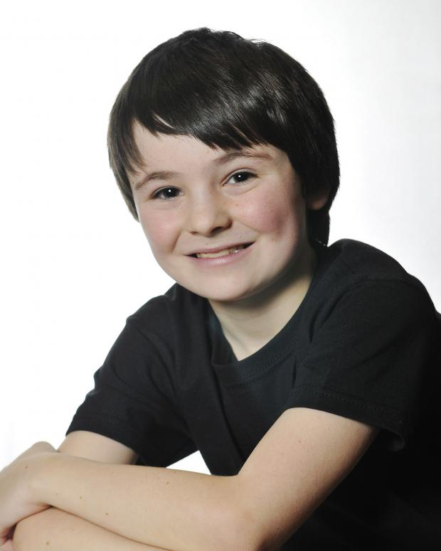 Ilkley Gazette: Budding star performer Mathew Lyons