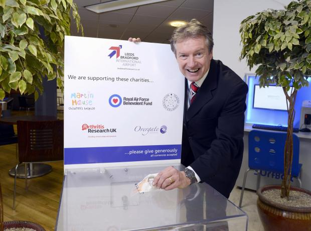 Tony Hallwood, Leeds Bradford Airport's aviation development and marketing director