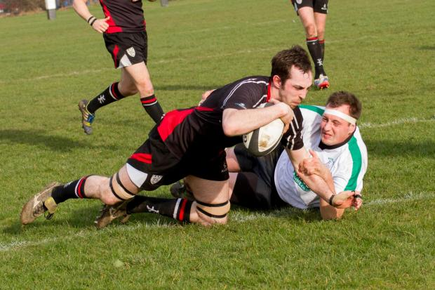 Pete Small, a try scorer at Acklam, is unavailable. Picture: ruggerpix.com