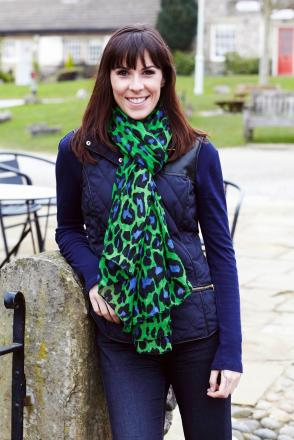 Charity patron Verity Rushworth