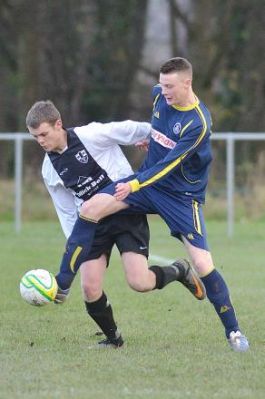 Adam Fowler went close for Ilkley Town