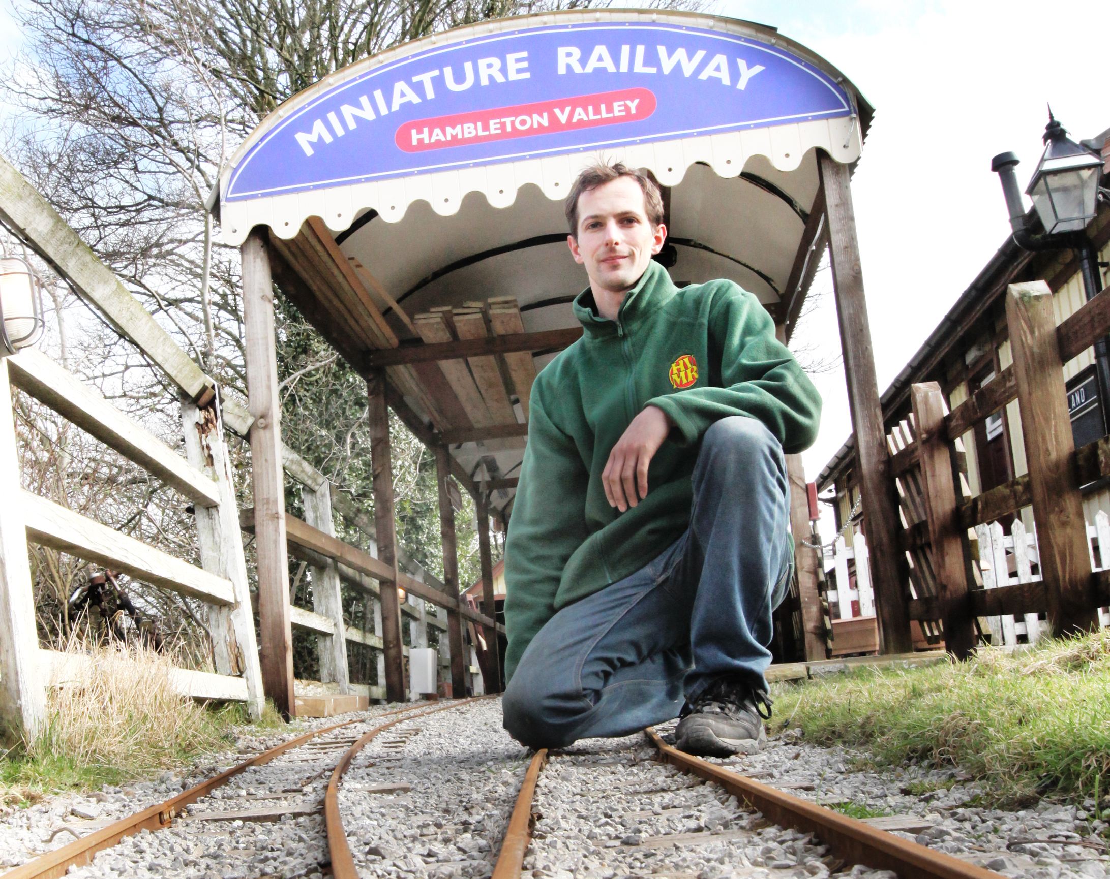 Embsay and Bolton Abbey Steam Railway  volunteer Tim Wainer
