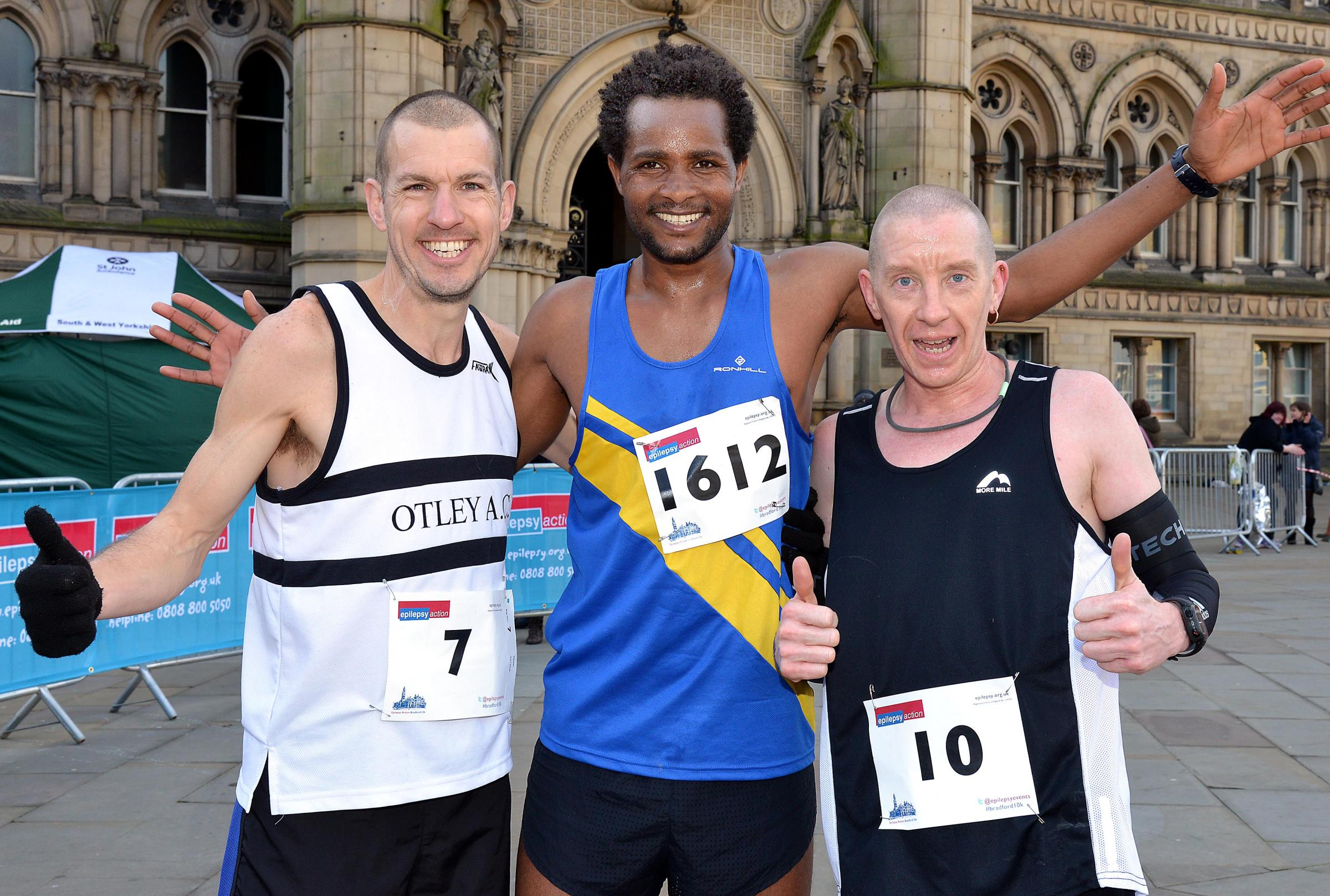 Record field for Epilepsy Action charity race in Bradford
