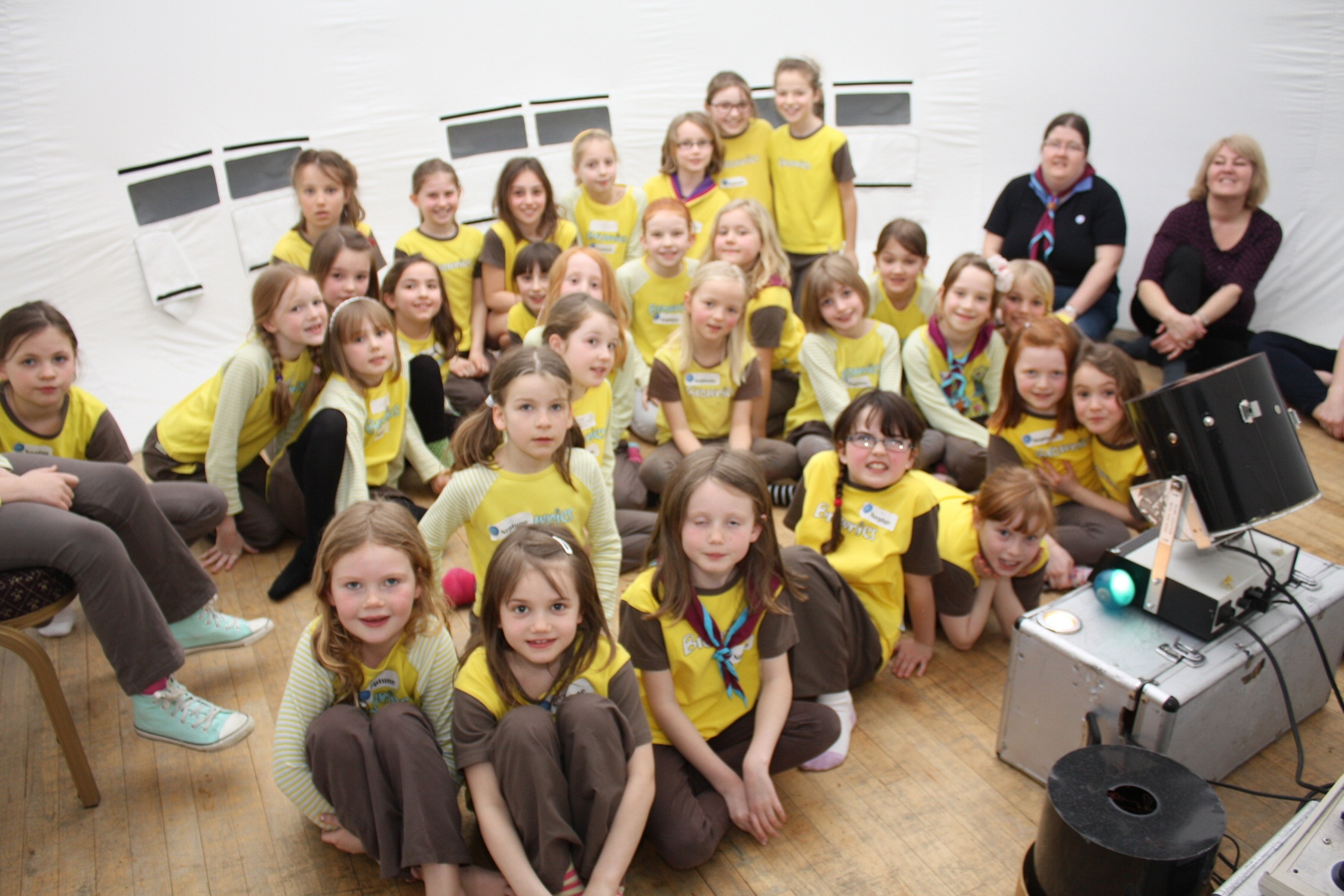 Ilkley Brownies ... then and now