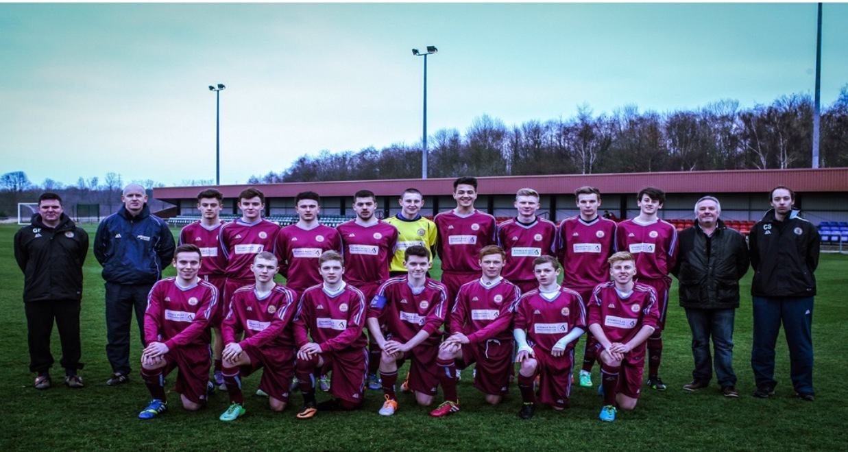 The Wharfedale FA Under-17 squad