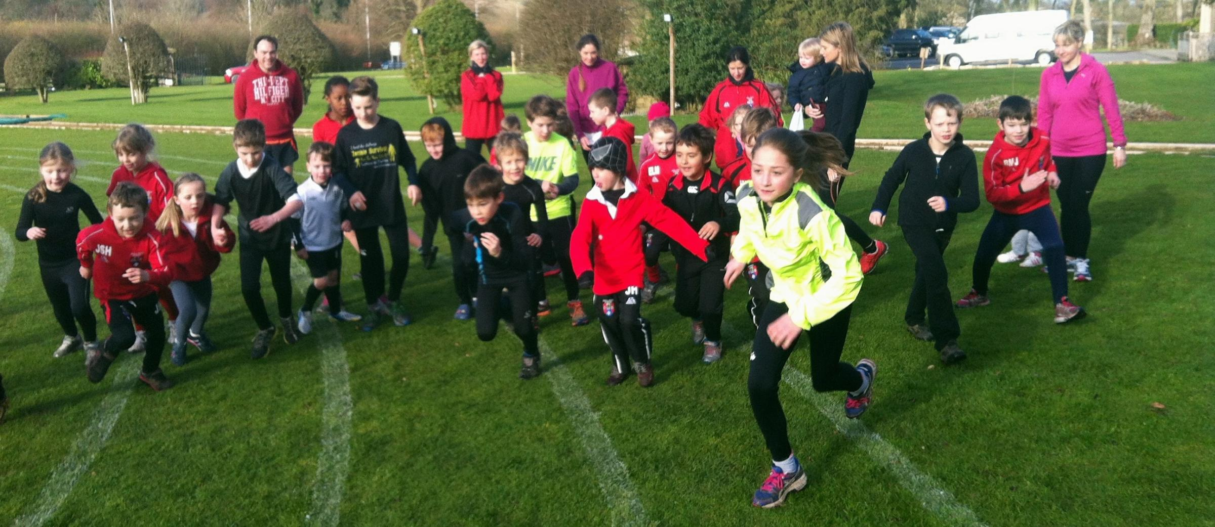 Ghyll Royd School children embrace the theme of Sports Relief and get running to raise funds for the charity
