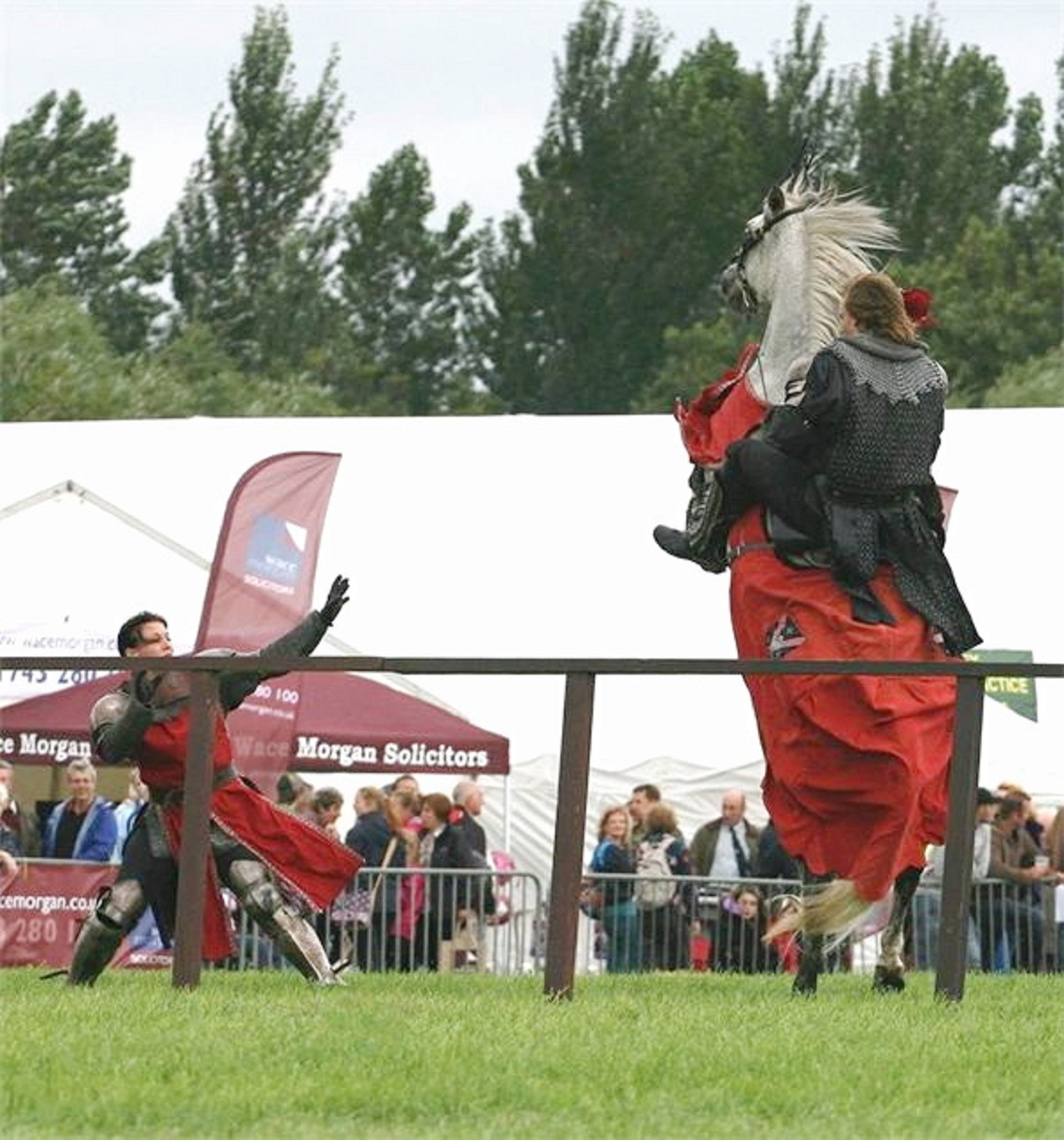 The flamboyant Stampede Stunt Display Team will be one of the main arena attractions at this year's Otley Show