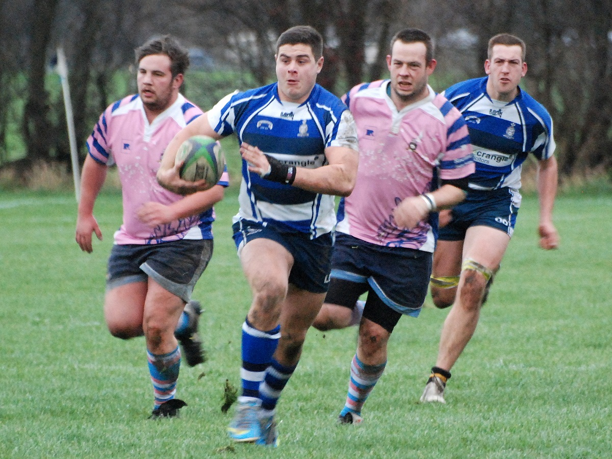 Luke Cowdell opened the scoring for Old Otliensians with a try