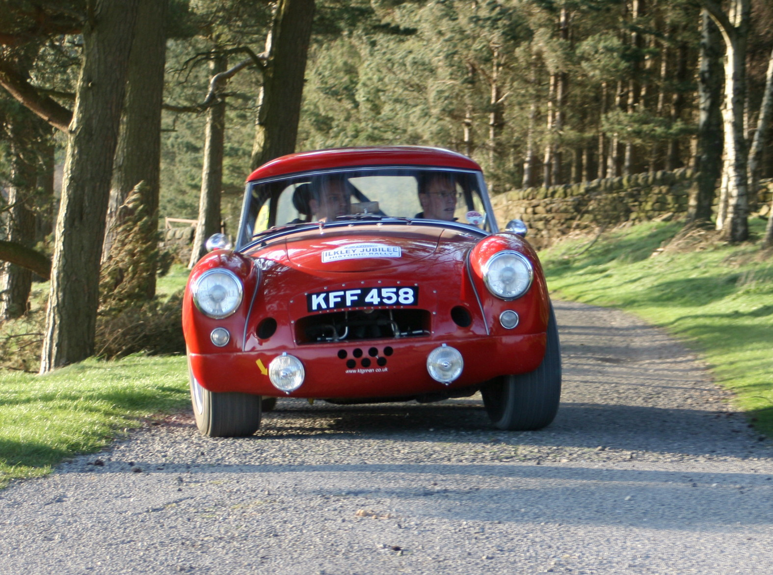 Smooth run to the Dales for Ilkley Motor Club's jubilee rally drivers
