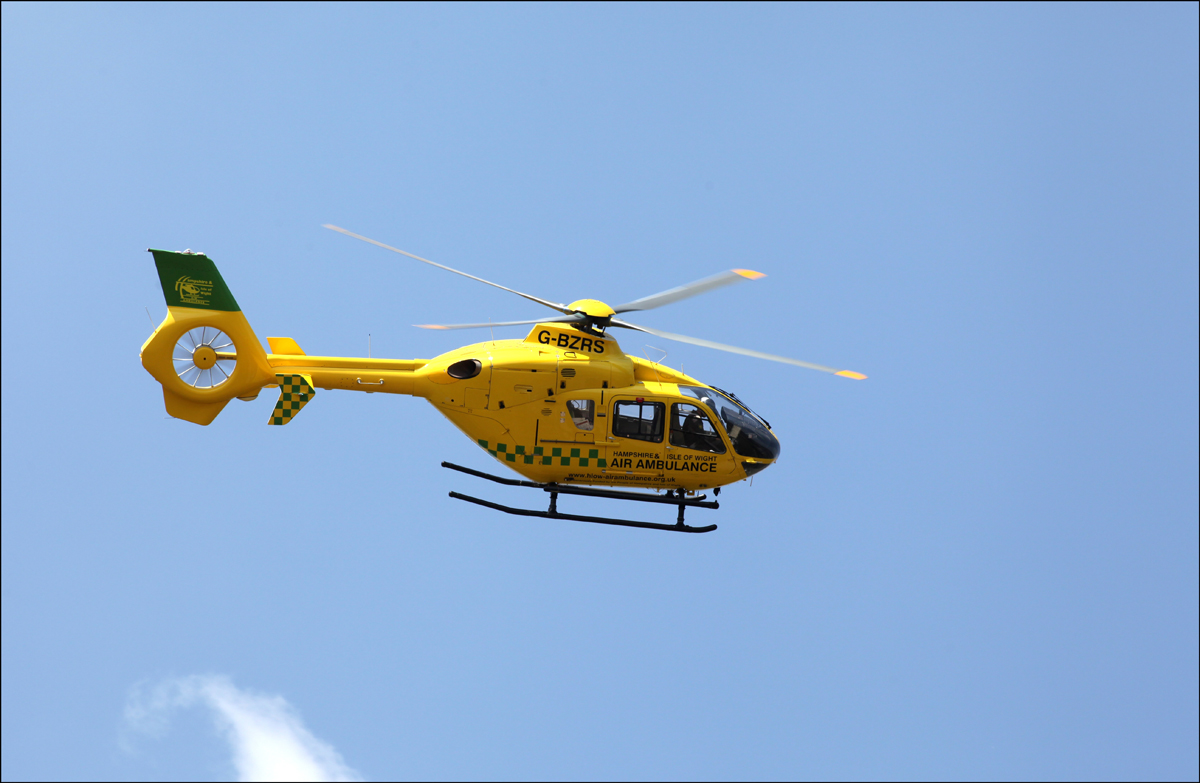Addingham mechanic airlifted to burns unit